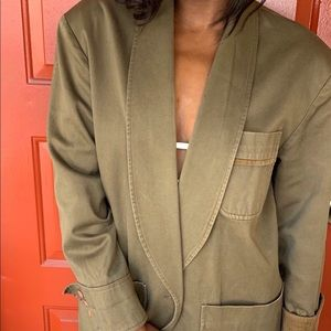 Harve Bernard Oversized Military Jacket Size 10